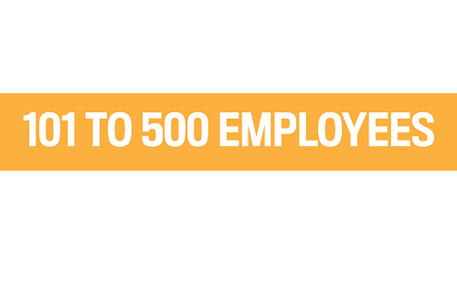 101 to 500 EMPLOYEES