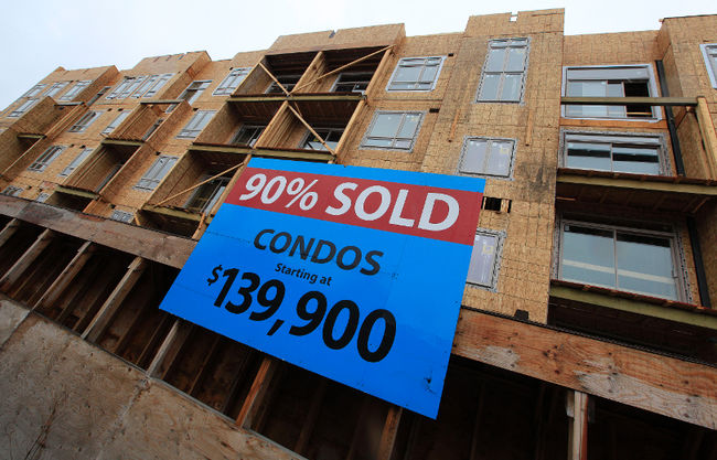Are condo mortgage deals finally about to fall?