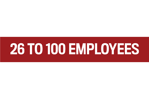 26 to 100 EMPLOYEES