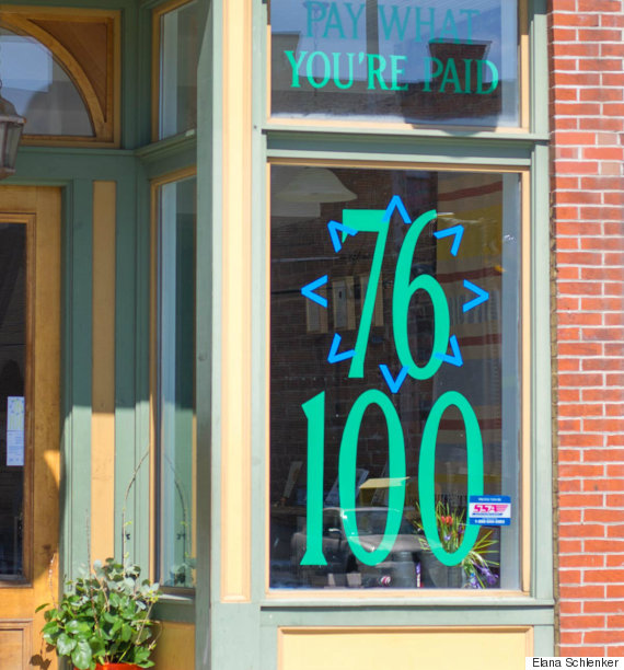 Pop-up shop tackles gender wage gap