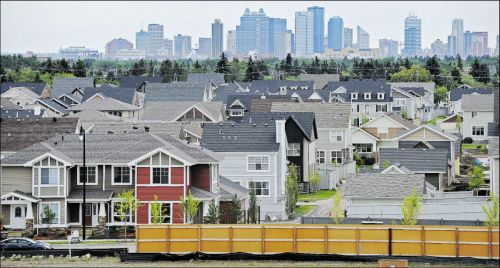 Edmonton housing starts increase