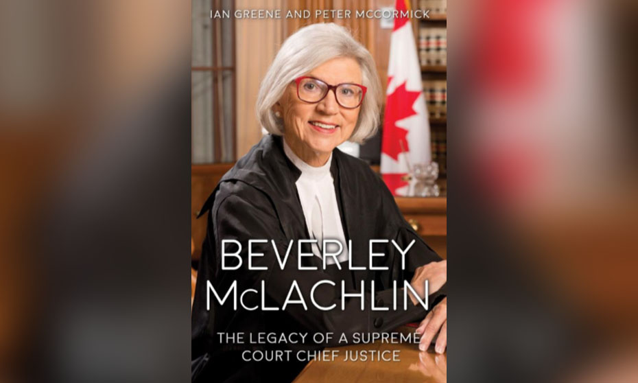 Beverley McLachlin bio provides insights into remarkable life and career