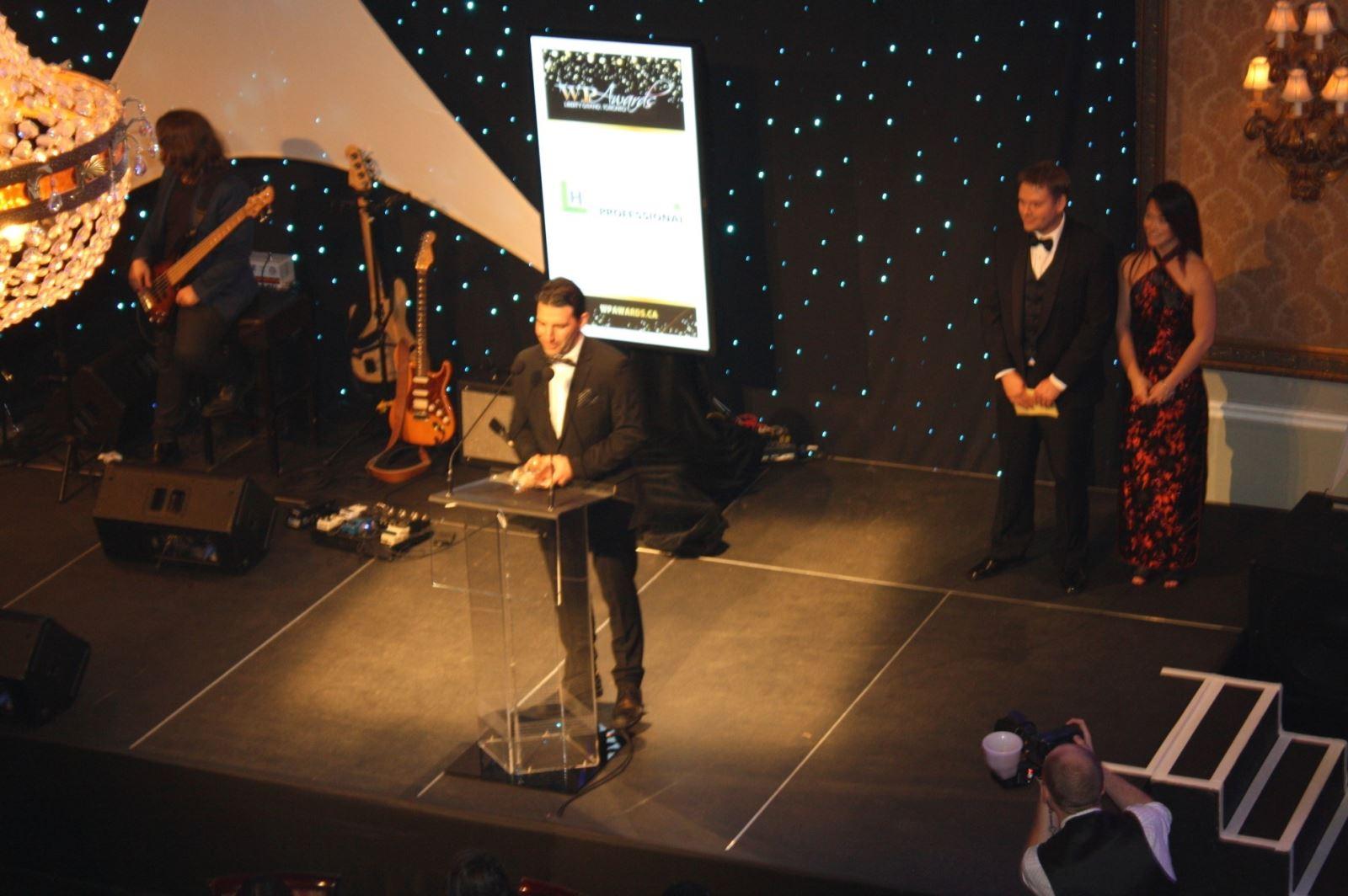Advisors revel in victory at WP Awards