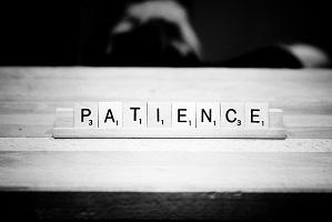 Broker advises peers to be patient