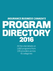 Insurance Business Program Directory 2016