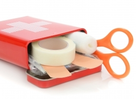 First aid: Make sure your boxes are ticked
