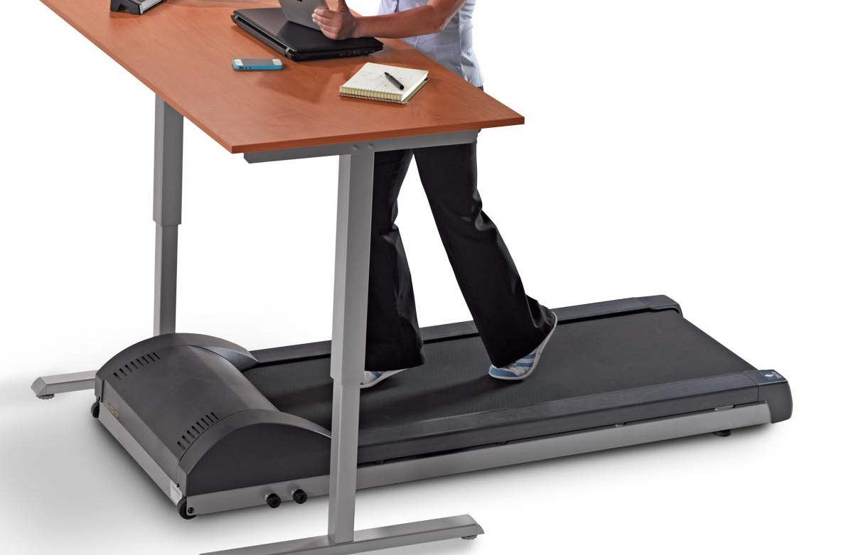 Treadmill desks have a hidden benefit that has nothing to do with health