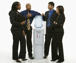 Water-cooler blues: What to do about office chatterboxes