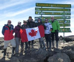 Advisors conquer Kilimanjaro for charity