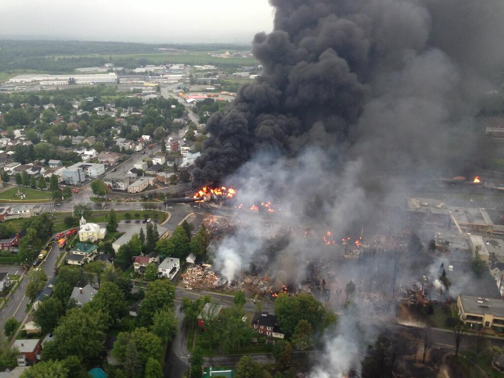 What human factors contributed to Lac-Megantic disaster?