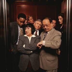 Weirdest work elevator events