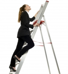 How women make the steep climb to the top