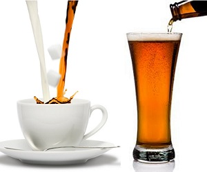 Far Out Friday: Coffee or beer to get the job done?