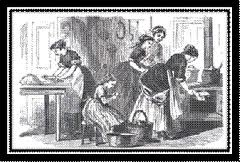 Working life for domestic servants in 19th century Britain