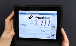 Participate in fraud chat; reach 700,000+ people