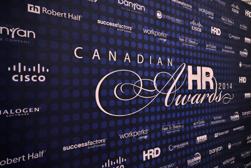 And the winners of 2014 Canadian HR Awards are ...