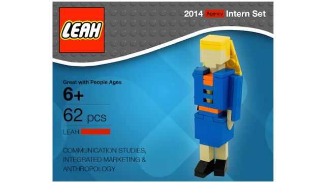 Creative resumes: Would you hire this Lego lady?