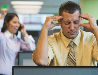 Can you repeat that? Workplace sounds kill hearing