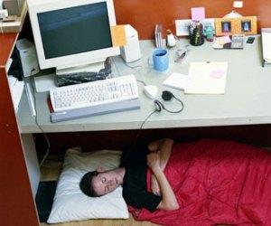 Desk naps: the secret to productivity?