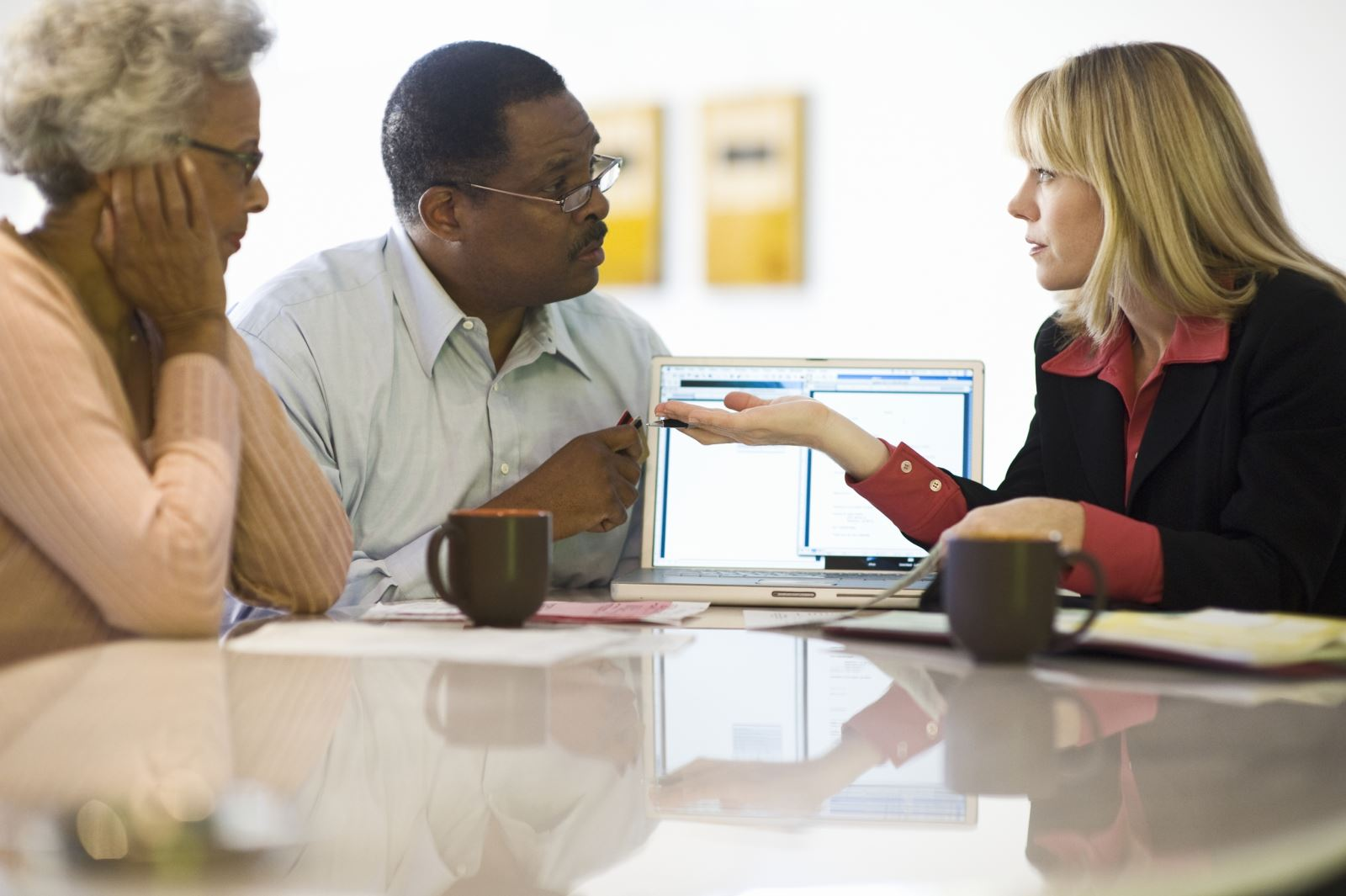 Clients conflict with advisors