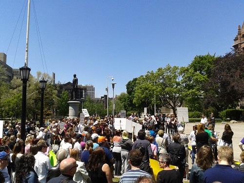 "Update: rally against insurers deemed ""a great success"""