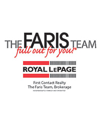 THE FARIS TEAM - ROYAL LEPAGE FIRST CONTACT REALTY, BROKERAGE,The Faris Team, Royal LePage First Contact Realty, Brokerage