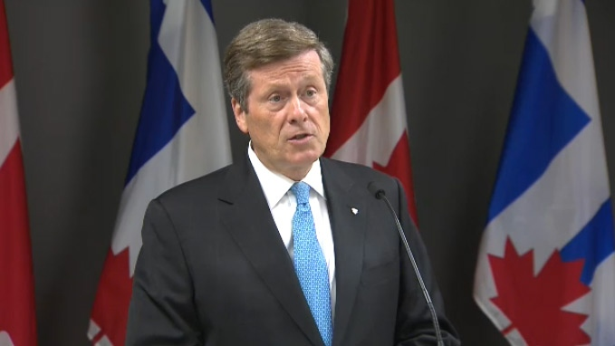 Toronto mayor not in a hurry to decide about intervention in housing