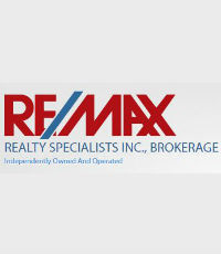 GILBERT SMITH - RE/MAX REALTY SPECIALISTS LTD,RE/MAX REALTY SPECIALISTS