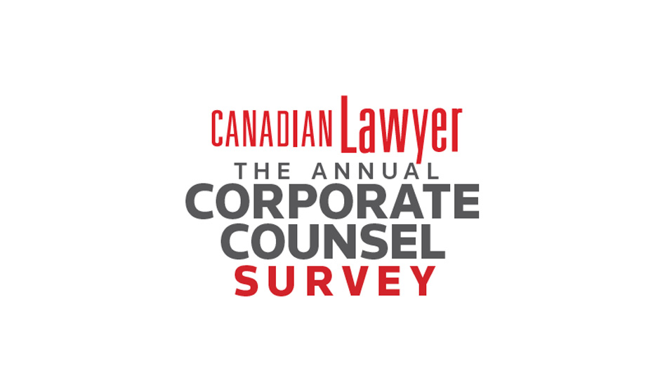 Corporate Counsel Survey 2019 closes on Monday, Aug 26