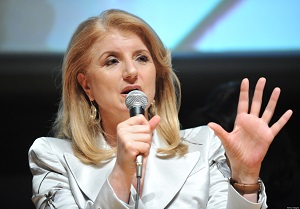 Arianna Huffington quits for HR start-up