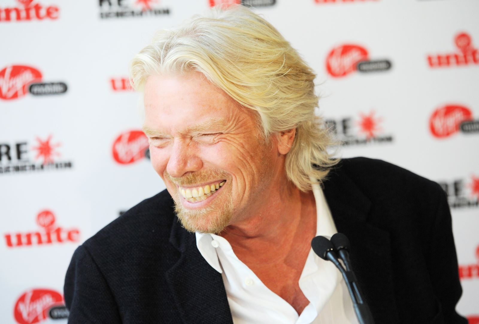 Richard Branson cashes in on both sides of Atlantic