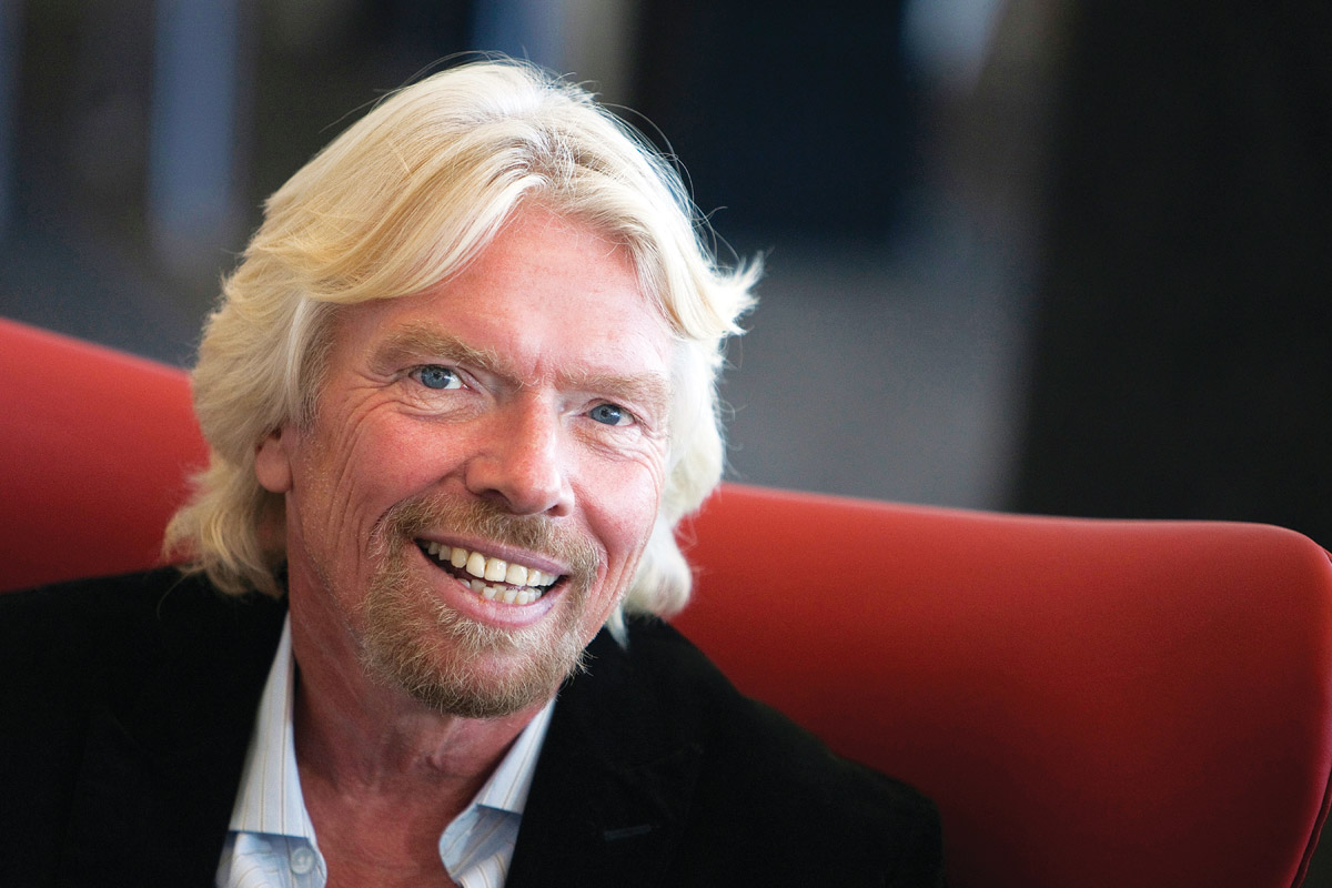 """Treat people who don't get jobs as well as people who do,"" – Richard Branson"
