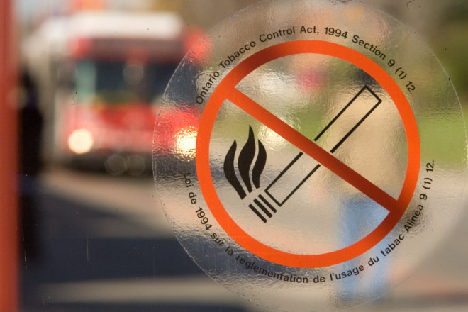 Ontario businesses face stricter smoking ban