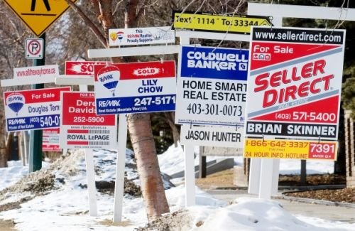 Panic over; Calgary listings ease but sales activity is weak
