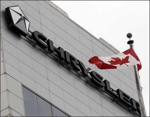 Chrysler recalls 4000 vehicles in Canada