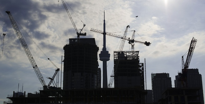 Toronto building boom is ending says TD