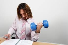 How to exercise at your desk, in secret