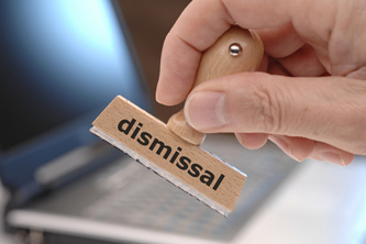 Does one wrong move warrant dismissal?