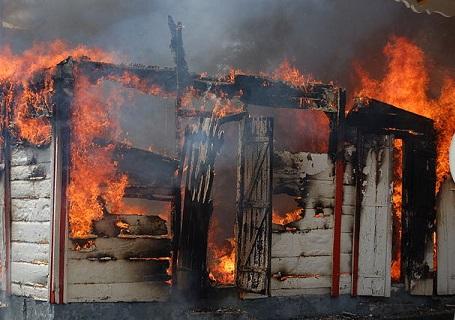Insurer demonstrates the devastation of fire