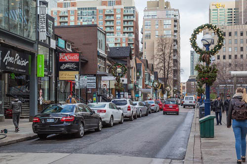 Toronto's Bloor Street slips in world retail space rankings