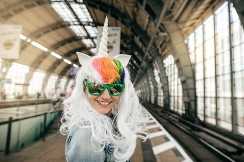 Magical unicorn roars for women
