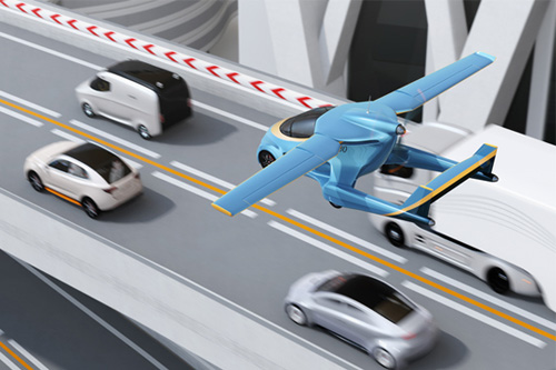 Will flying cars impact cities' vertical expansion policies?