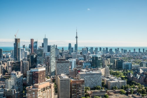 Toronto on fire thanks to record housing starts