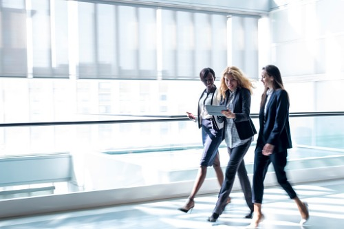 Be an authentic female leader