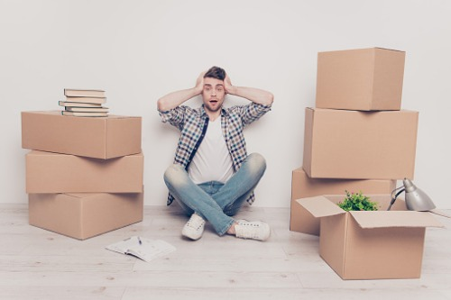 Moving home is more stressful than many life-changing events