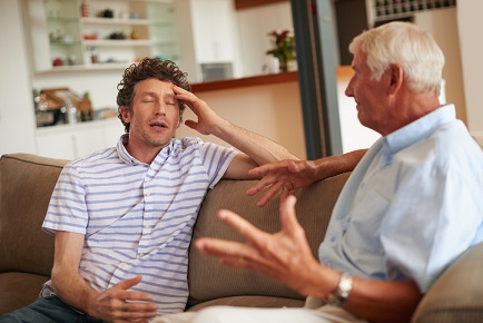 Study reveals aging clients' stress point