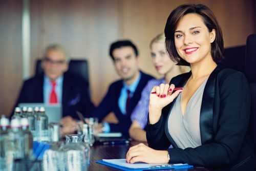 How can HR encourage more female leaders?