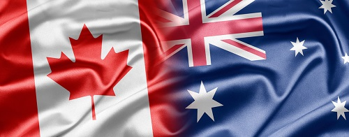Canada, Australia and New Zealand share this unfortunate link