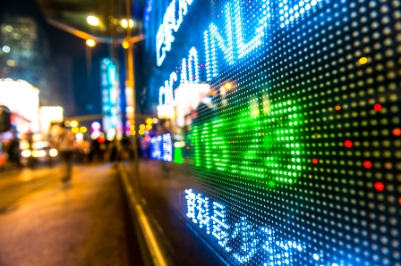 Volatility returns as Asian data disappoints