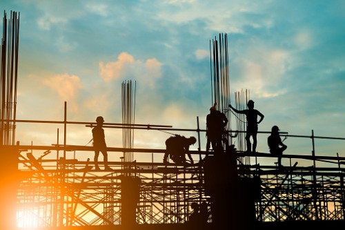 Construction job losses noticeably affected national employment